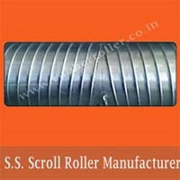 S.S. Scroll Roller