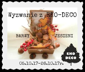 Barwy jesieni z EKO-DECO