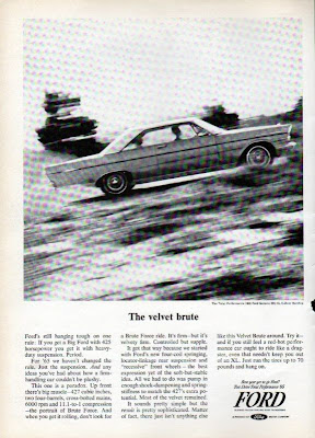 1965 magazine ad for Ford Galaxie 427