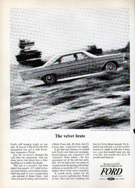 Period magazine ad for Ford Galaxie 427