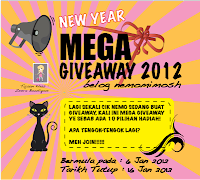 Mega Giveaway 2012 Belog Nemomimosh