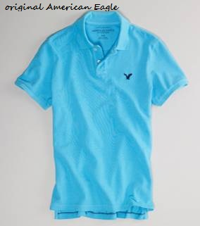 American Eagle blue t shirt