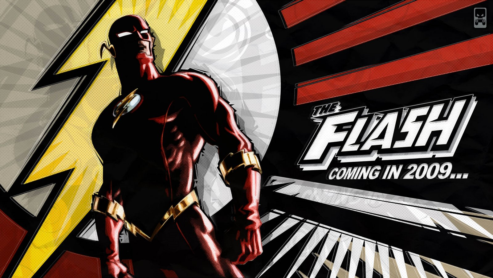 The Flash Video Game Menu Art2 by Roger Robinson Young cock suckers