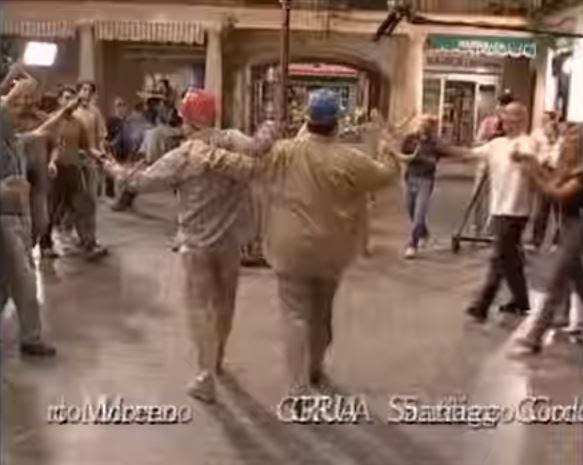 Casco de vida, último episodio de Manolo y Benito, finales de series, gotelé, Carlos Iglesias y Ángel de Andrés
