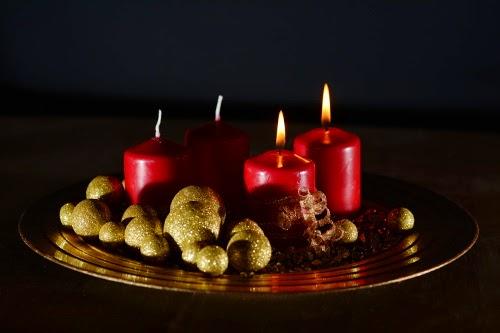 Wir wünschen einen schönen 2. Advent  - Schokolade Geschenk Box 2014