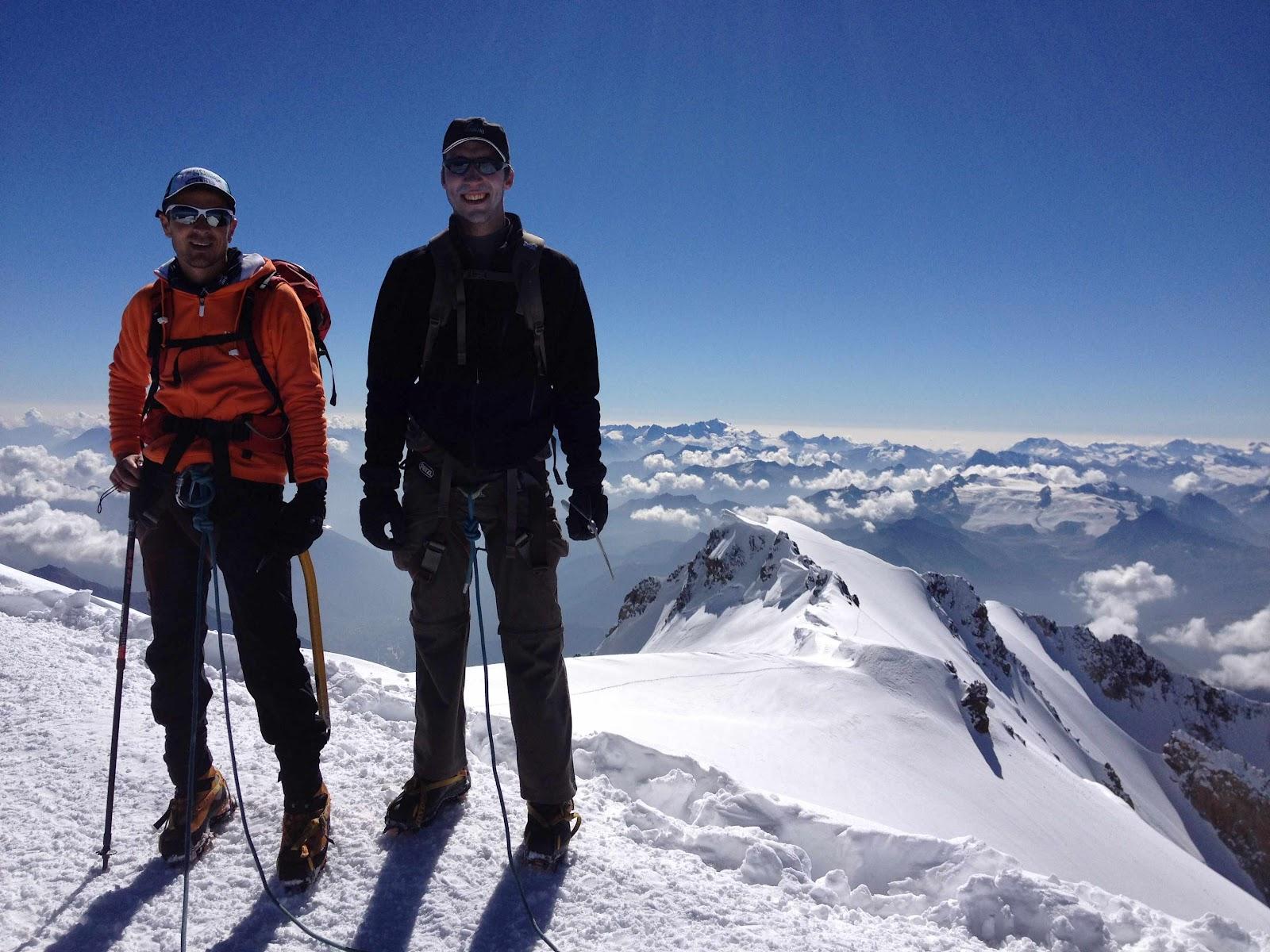 quentin delavignette guide de haute montagne uiagm le mont blanc 4810m