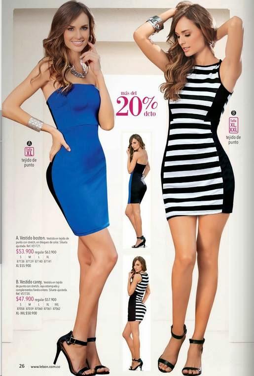 Vestidos stretch 2015 Lebon C-4