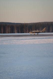 Landing in Lapland