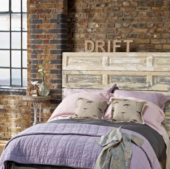 Decoraci n de dormitorios estilo industrial for Recamaras matrimoniales vintage