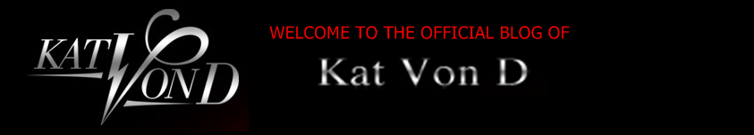 Kat Von D's Blog