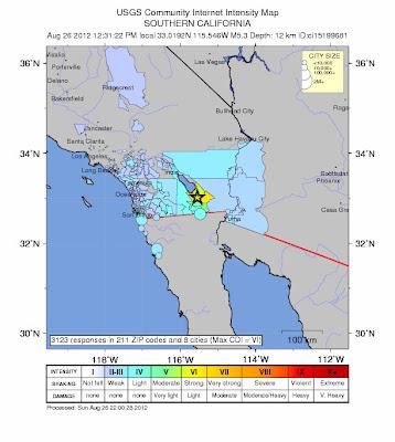 SISMO REGISTRADOS EN CALIFORNIA 26 DE AGOSTO 2012