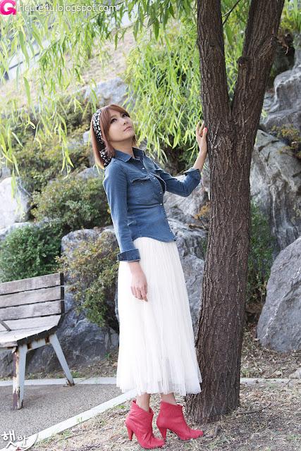 8 Jang Jung Eun - Outdoor-very cute asian girl-girlcute4u.blogspot.com