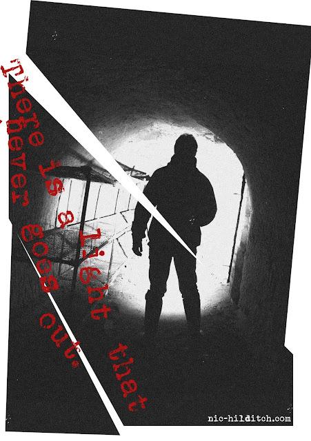 ghost, exploration, abandoned, derelict, asylum, hospital, nous, zine, publication, depression, disconnection, tunnel, urbex, morrissey, graphic design, riso, edit, choppy, lyrics, exploration, details, signage, mmu, manchester, Huddersfield,