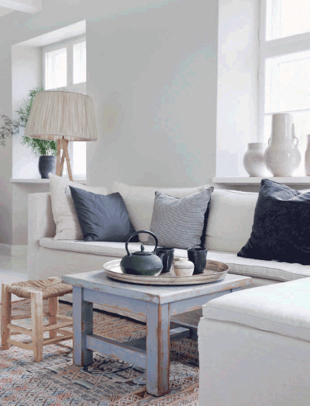 Decoraci n f cil sereno y natural hogar de estilo escandinavo - Decoracion estilo escandinavo ...