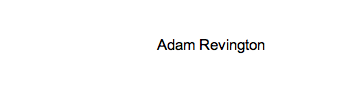 Adam Revington