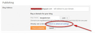 blogger custom domain setup2