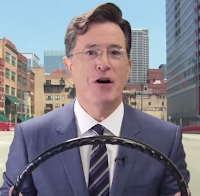 Stephen Colbert Waze Video - One Cool Tip
