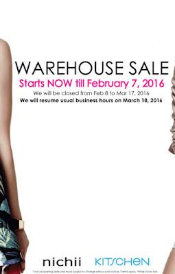 Kitschen warehouse sale 2016