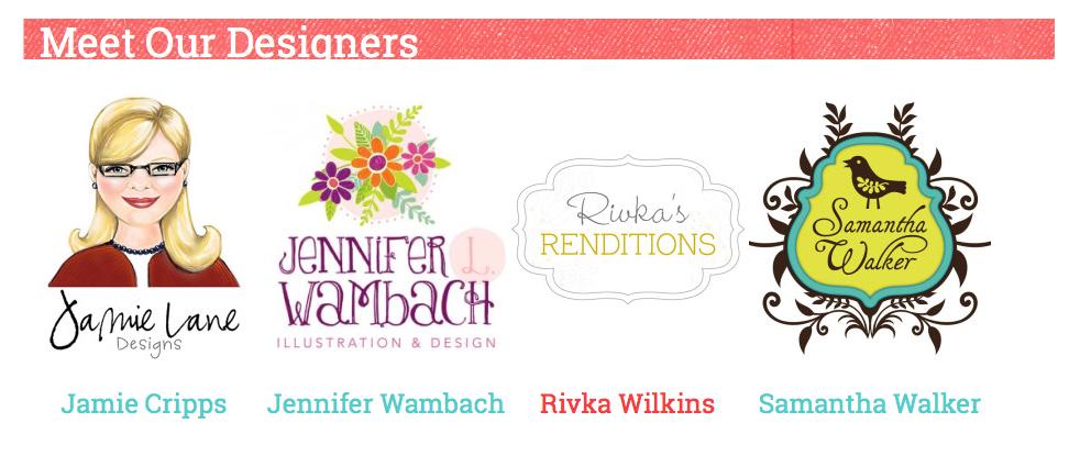digiplayground.com designers Samantha Walker, Jamie Cripps, Jennifer Wambach, Rivka Wilkins