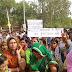 बाड़मेर शिक्षक उतरे सडकों पर,सरकार से आर -पार लडाई का ऐलान