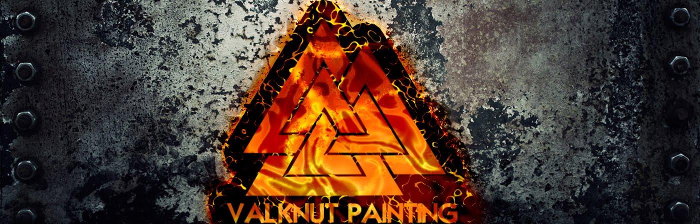Valknut Painting