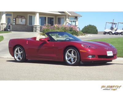 2008 Chevrolet Corvette at Purifoy Chevrolet