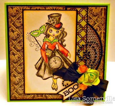 Stamps - Stampendous Cling Halloween Magic, Hero Arts Happy Halloween