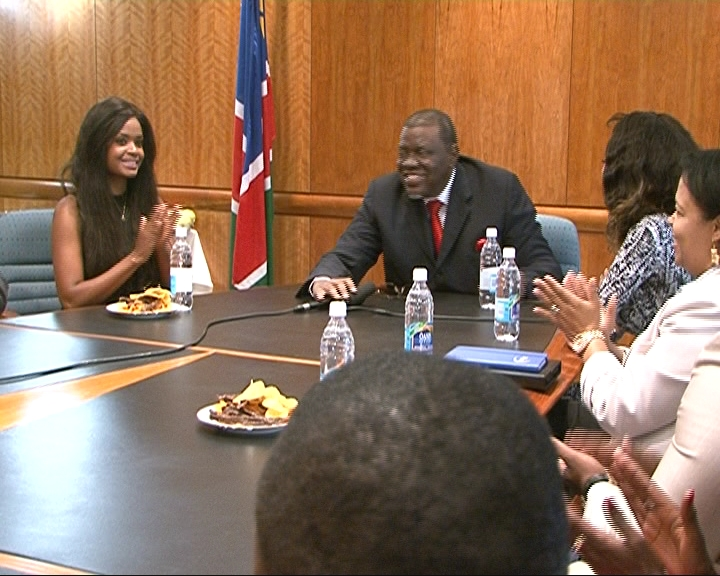 The minister told Dillish that she had represented Namibia well in the ...