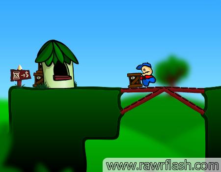 Jogos de construção: Cargo Bridge, Poly bridge online
