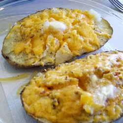 Recipes from around the world: Microwave Baked Potato on reheating baked potato in microwave, baked sweet potato microwave, bake cookies in microwave, steak in microwave, oven baked potato in microwave, burrito in microwave, pop popcorn in microwave,