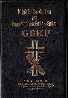 Kitab Ende - Enden GBKP
