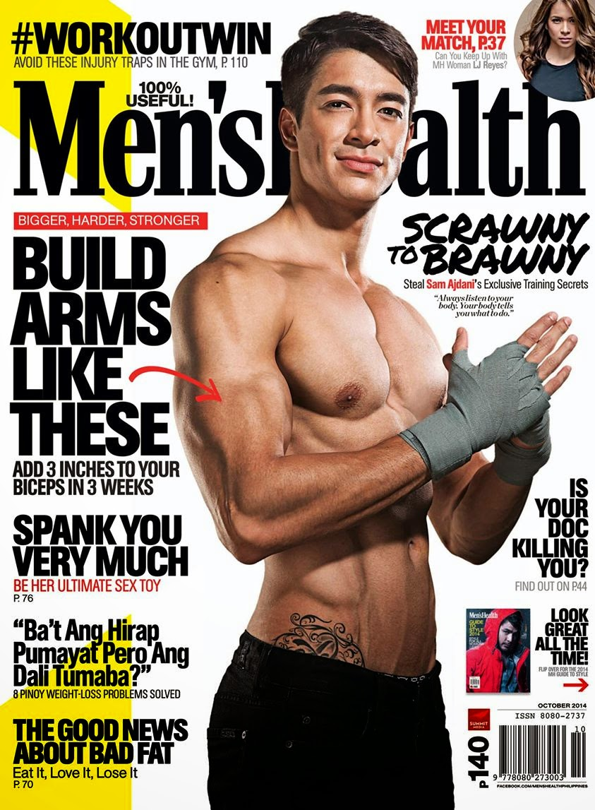 Men's Health Ph Oct. 2014