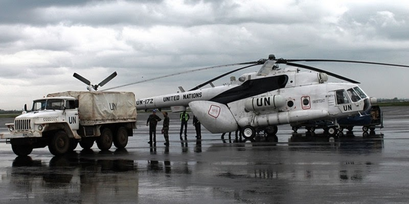 Mi 17 of Bangladesh air force in UN