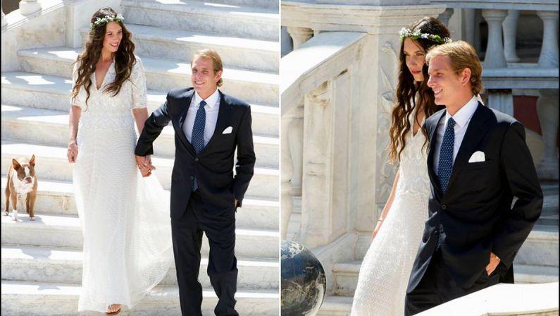 Andrea Casiraghi y Tatiana Santo Domindo celebrarán su segunda boda en Gstaad