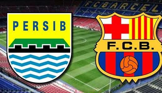 Persib Bandung vs Barcelona