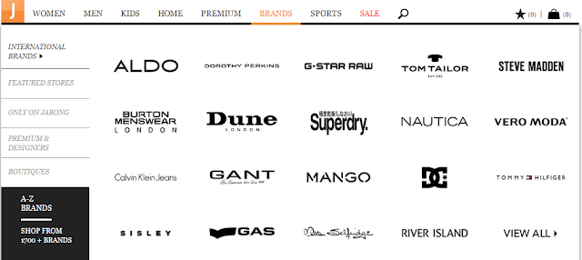 Jabong shopping experience