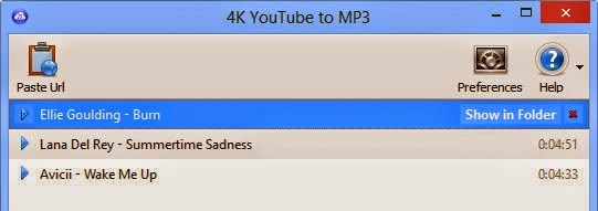 4K YouTube to MP3 2.9 download