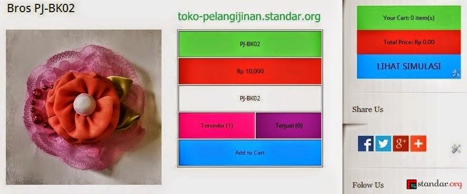 Alhamdulillah.. 13.10.2014 Launching toko-pelangijinan.standar.org