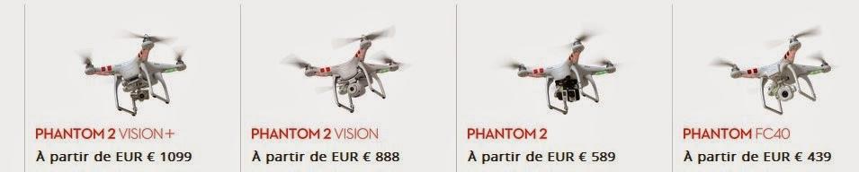 le drone Parrot Bebop serat il disponible avent Noël ? ... voila la question ...