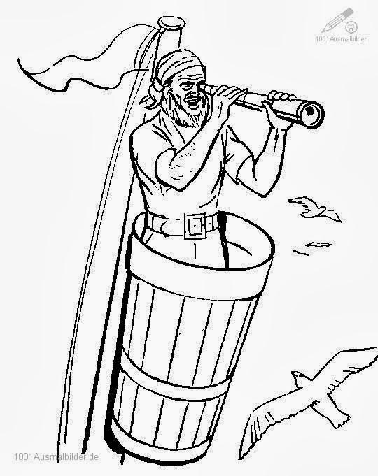 malvorlagen pirat