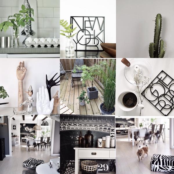 instagram, @svartvittochrott, @annelies_design_interior, insta, instabilder, inredning, inredningsdetaljer, svart och vitt, svartvit inredning, webbutik, webbutiker, webshop, interior, grytunderlägg, pinocchio, trädäck, uteplats, plantor utomhus, fototapet, eiffeltornet,