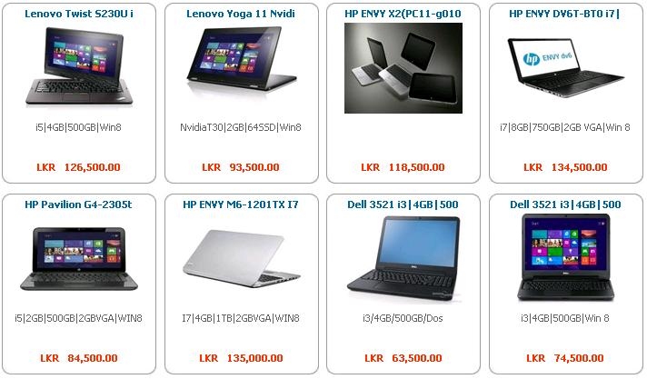 Brand New Used Laptop Prices In Srilanka Techfurk Technology