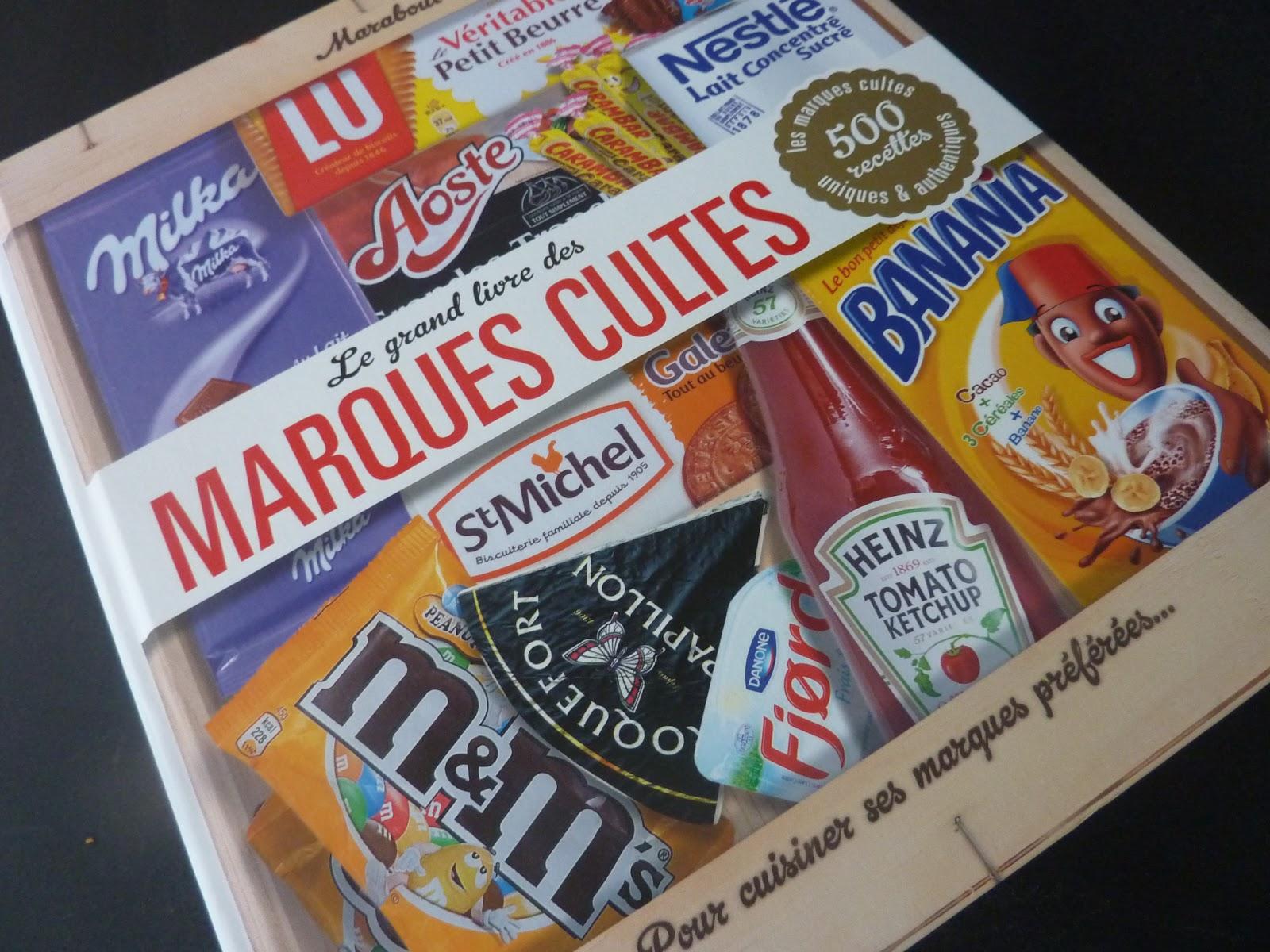 Coup de coeur de no l le grand livre des marques cultes - Livre cuisine marque culte ...
