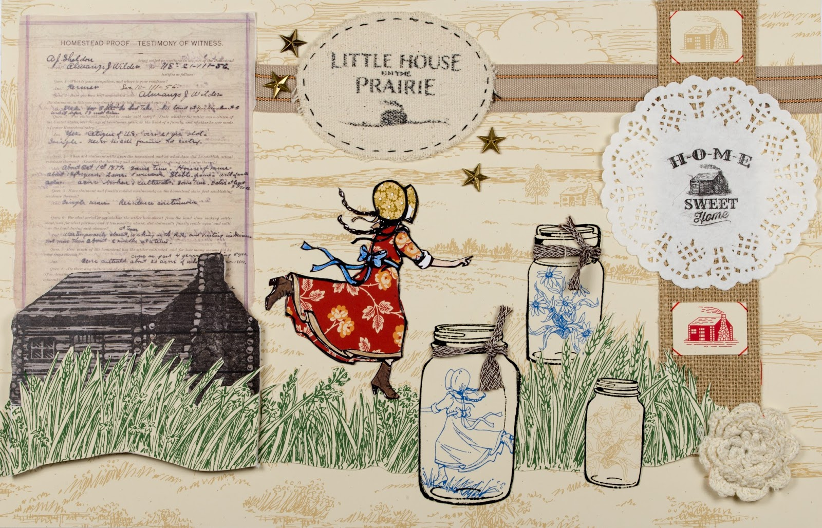 Broadbent's Quilting Chicks: Little House on the Prairie : prairie quilts - Adamdwight.com
