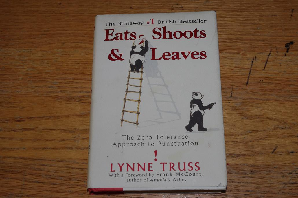 Eats shoots and leaves essay