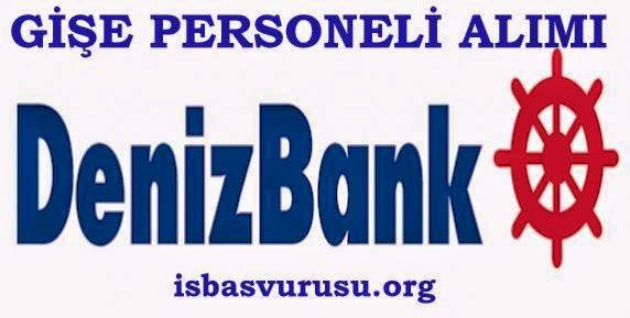 denizbank gişe personeli alımı