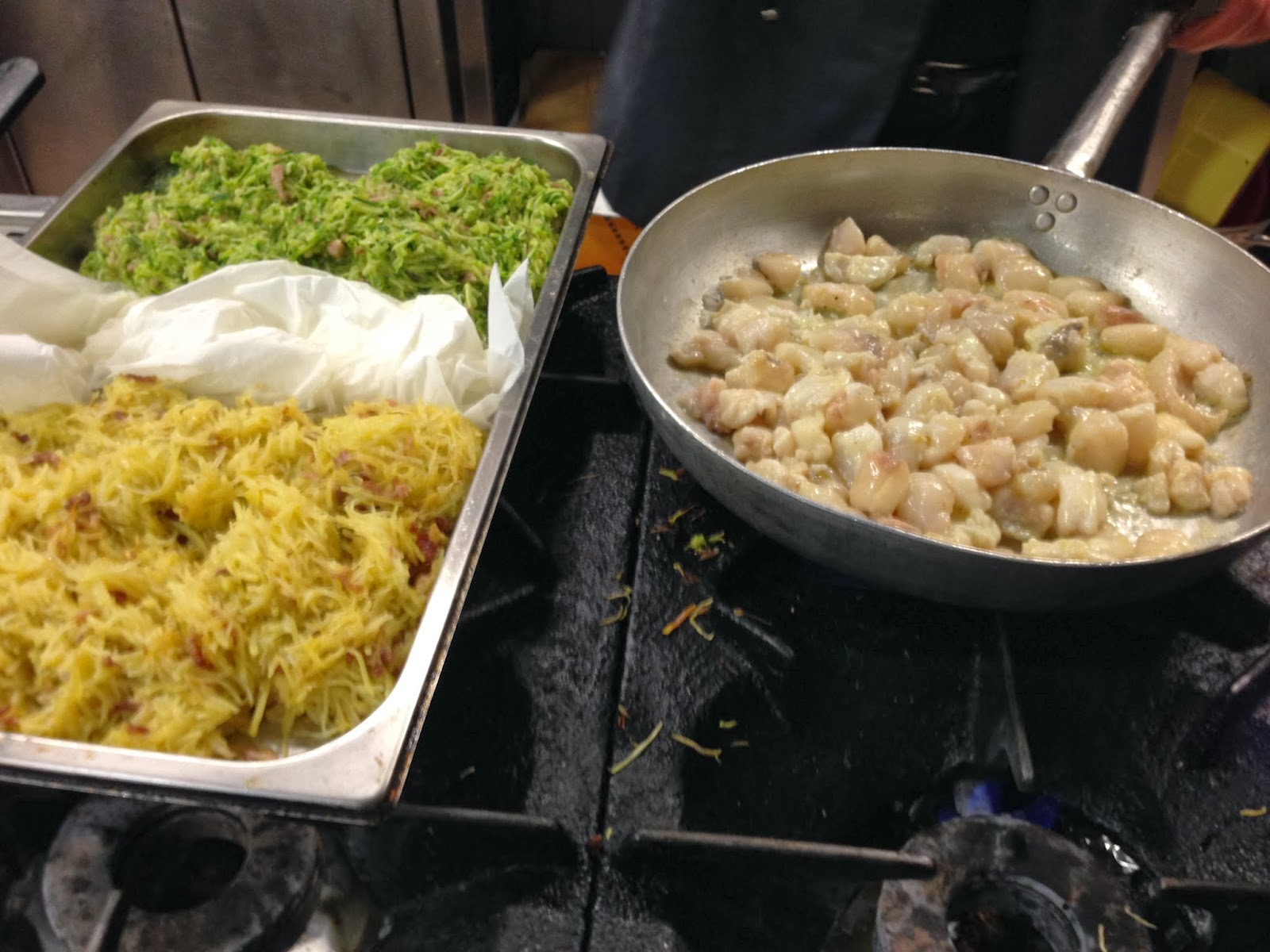 Vino cucina ingegneria 36 cucina piadina con coda di for Verdure alla julienne