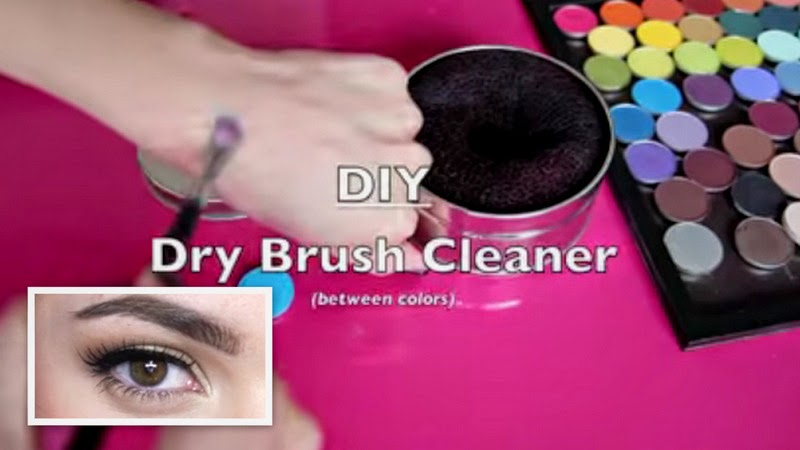 Video Of The Week: Eyebrow Routine And Cheap Dry Brush Cleaner