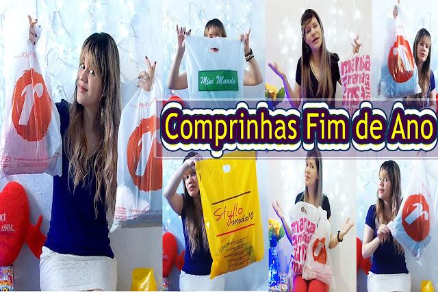 Blog e Canal Roxachic - Comprinhas de Final de Ano | Renner, Marisa e mais... Roupas, Bolsas, Sapato