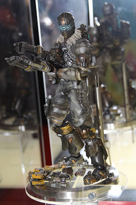 Square Enix Play Arts 2013 Toy Fair Display - Dead Space 3 figure